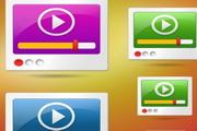 MP3网页图标psd素材