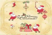 矢量圣诞节主题标签