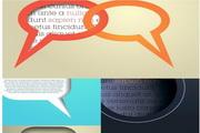 矢量现代设计语言对话框