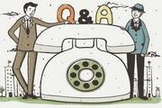 商务电话插画矢量素材