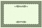 矢量传统装饰花纹边框