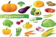 矢量新鲜蔬菜01