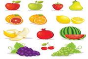 矢量新鲜水果04