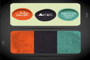 色彩创意矢量名片模板