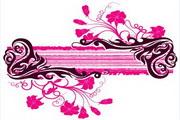 矢量时尚花纹素材11