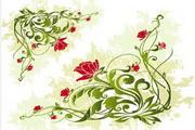 矢量时尚花纹素材12