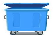 垃圾桶矢量图素材