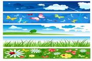 夏季banner矢量设计素材