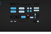 网页按钮WEB UI图标设计psd素材