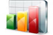 统计数据桌面图...