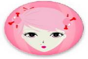 粉红美女桌面图标下载