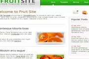 绿色幻彩水果企业网站DIV+CSS网页模板