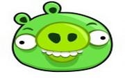 绿色小猪表情图标下载
