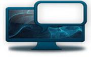 蓝色系统桌面图标下载3