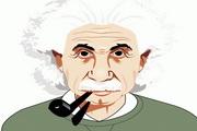 爱因斯坦矢量素材