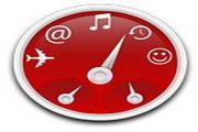 红色苹果桌面图...