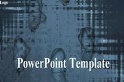 抽象风格科技PPT模板