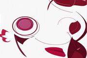 艺术风格红玫瑰PPT模板