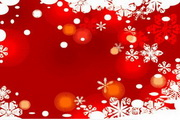 时尚冬季花纹背景素材16