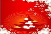 时尚冬季花纹背景素材35