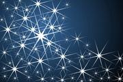 星光背景矢量图