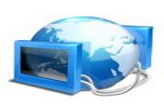 蓝色经典桌面图标下载