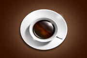 咖啡图标PSD免费图标