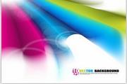 矢量绚丽彩虹光斑背景图02