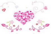 心形花纹桌面图标下载