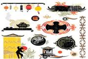中国风传统矢量图