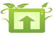 绿色花纹桌面图标下载