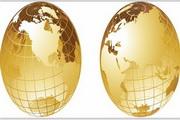 矢量全球金融背景素材