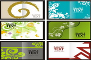 矢量创意平面设计封面图