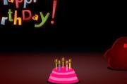 搞笑生日蛋糕flash动画素材