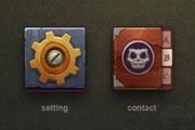 游戏图标设计PSD素材