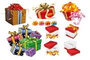 5套漂亮包装盒矢量素材
