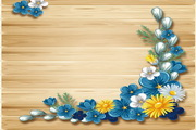 植物装饰边框矢量素材