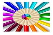 矢量彩色铅笔素材