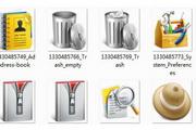 Mac工具类图标矢量素材
