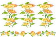 植物花边边框素材11