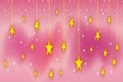 星星背景矢量图