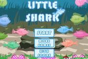 贪吃的小鲨鱼...