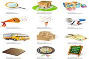 商品购物系列矢量图