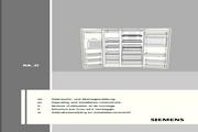 西门子KA62DS50TI电冰箱使用说明书