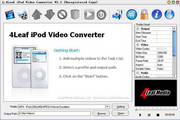4Leaf iPod Video Converter