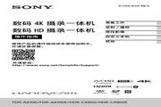 索尼HDR-CX900数码摄像机使用说明书