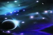 星空宇宙PSD分层素材