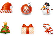 圣诞节图标素材...