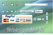 购物网页图标psd分层素材