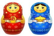 俄罗斯套娃玩具png图标素材